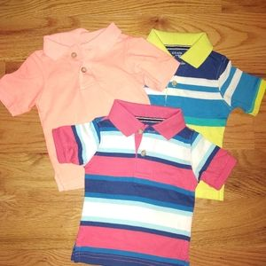 Nwot 3- Childrens place Polo shirts